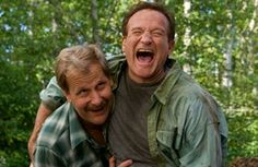 Jeff Daniels and Robin Williams