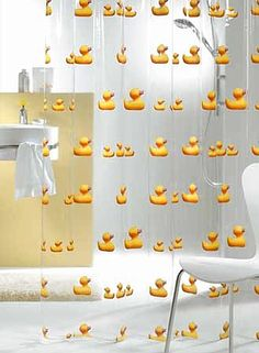 Rubber Ducky Shower Curtain, I\'m Awfully Fond Of You   Hiding ...