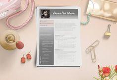 2 Pages Resume Cover por LaurelResume Cv Curriculum, Creative Resume Templates, Elegant, Etsy, Cover, Design, Handmade Gifts, Hand Made, Classy