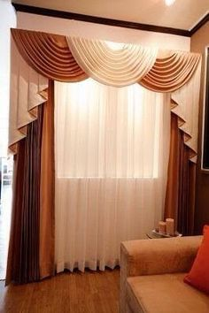 Cocina Curtains For Arched Windows, Home Curtains, Best Living Room Wallpaper, Drapery Designs, Diy Home Crafts, Bedroom Themes, Ceiling Design, Interior Design, Valances