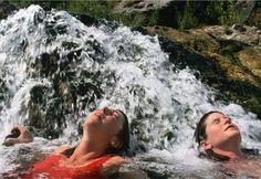 Hot Springs: Boiling River, Montana