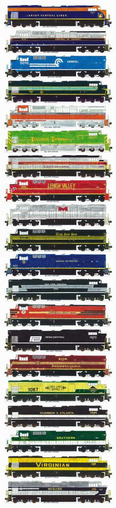 Sticker design by Andrew Fletcher for Norfolk Southern Corp.