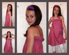 petite robe vite faite avec peu de tissu