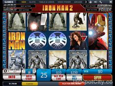 Have you ever played 'Iron Man 2'? You can now play it for free here. >> jackpotcity.co/r/6724.aspx