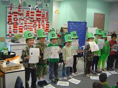 Mrs. T's First Grade Class: St Patrick's Day Reader's Theater
