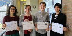 Congrats to the Climate & Space students who received awards at the MGU Student Research Symposium: Dogacan Su Ozturk, Mary Morris, Ryan Dewey and Jennifer Bukowski!