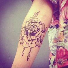 Rose rose   tatuaje