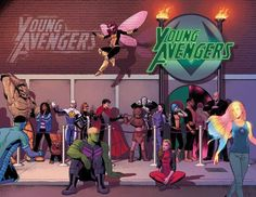 All I ask for is a Young Avengers Netflix series. by...