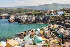 Puerto y piedras de Llanes