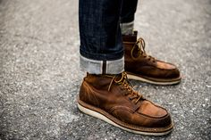 Fashion Snap @People of Tastes Application #pot #app #fashion #snap  #street #redwing #selvedge