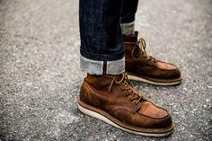 Fashion Snap @People of Tastes Application #pot #app #fashion #snap  #street #redwing #selvedge