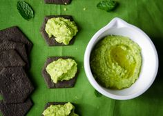 broad bean hummus with lemon & mint: food and the fabulous