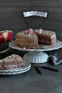 schokotorte spekulatiusboden schokoladenkuchen creme double blogparade foodblogger backen kuchen weihnachtstorte
