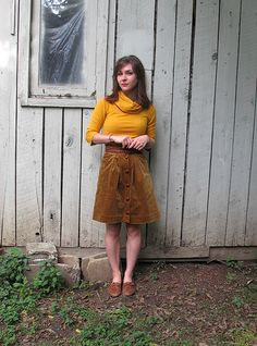 Completed: A Cozy Kelly Skirt
