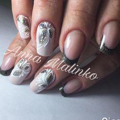 """143 Likes, 2 Comments - ANNA_MALINKO (@anna_malinko) on Instagram: """"#аннамалинко #nails #ногтики"""""""