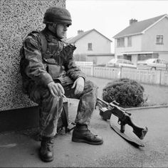 Stuart Griffiths was posted to County Tyrone as a military photographer. Some weeks into the tour, a young British soldier lost both his legs to an IRA explosive device, triggering the Coalisland riots. Northern Irish, Northern Ireland, British Soldier, British Army, Erin Go Braugh, Parachute Regiment, Falklands War, Paratrooper, Special Forces