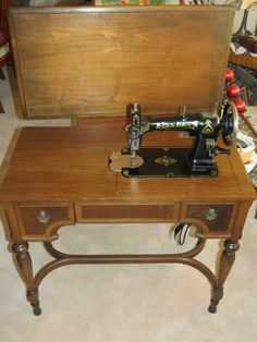 110 best vintage white sewing machines images on pinterest vintage rh pinterest com white sewing machine cabinet styles white sewing machine cabinet parts