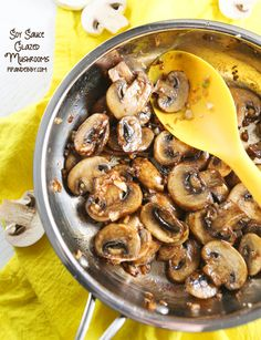 Pip & Ebby -Soy Sauce Glazed Mushrooms