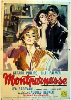 Los amantes de Montmarnasse , Jacques Becker 1974.