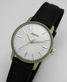 Very clean and pretty Raketa; no papers, New Old Stock apparently made in 1992. (It seems a lot of watches were made in 1992, one of the last years of the original Raketa...) here: http://r.ebay.com/EINXXh