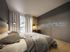 Scandinavian style meets ultramodern design in this innovative and artistic apartment interior. Modern Scandinavian Interior, Scandinavian Apartment, Scandinavian Style, Swedish Style, Simple Bedroom Design, Room Design Bedroom, Bedroom Decor, Apartment Interior, Apartment Design