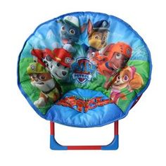 Paw Patrol Lover Gift Moon Chair For Kids Comfortable Light Weight Design Paw Patrol Room Decor, Paw Patrol Bedding, Paw Patrol Bedroom, Paw Patrol Toys, Paw Patrol Party, Paw Patrol Birthday, Man Room, Child's Room, Toys Uk