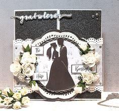 HOBBYKUNST Copic, Wedding Cards, Wedding Ecards, Wedding Invitation Cards, Wedding Card