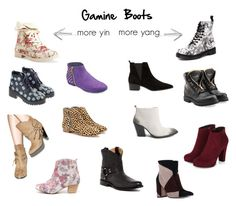 """Gamine Boots"" by thewildpapillon on Polyvore featuring Dr. Martens, Aéropostale, Balmain, MANGO, Gianvito Rossi, Qupid, Sbicca, John Fluevog, Loeffler Randall and Anouki"