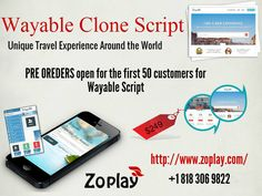 Wayable is an online marketplace script where traveler can buy and sell unique travel experiences. It is a online marketplace where people can book and discover unique travel experiences from local guide. For more info: https://www.zoplay.com/web/wayable-script-unique-travel-experience/