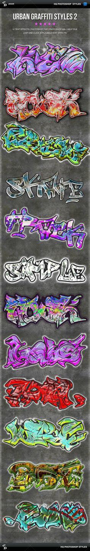 Urban Graffiti Text Effects 2