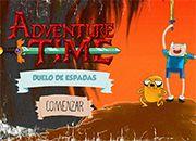 Adventure Time Duelo de espadas