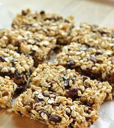I am a self-professed granola bar fiend Healthy Snacks For Kids, Healthy Cooking, Granola Barre, How To Make Granola, Cereal, Portable Food, Homemade Granola Bars, Go For It, Good Food