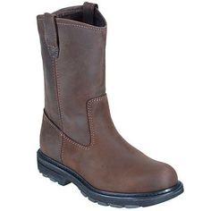 Wolverine Boots Men's Brown Steel Toe EH SR Wellington Boots 4707