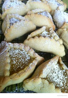 Purim ~ Lemon Bar Hamantaschen