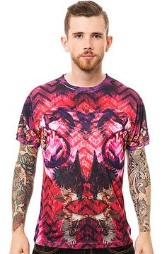 LATHC Butterfly Lion Tee in Red