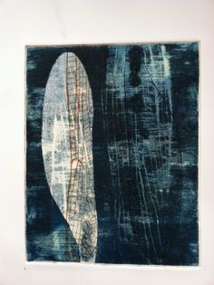 "Contemporary Printmaking - ""Wings 10"" (Original Art from Paula Zinsmeister)"