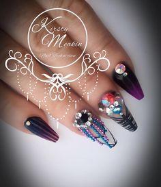 Kirsty Meakin Nail Art Naio Nails Naionails Nailart Acrylicnails Kirstymeakin