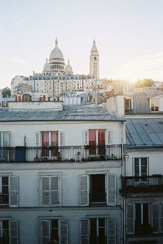 Montmartre, early morning,Paris: