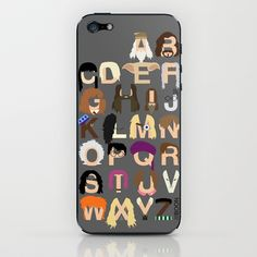 Harry Potter Alphabet iPhone & iPod Skin by Mike Boon - $15.00