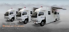Custom manufacturer of mobile clinics. We are making mobile clinics on different sizes of trucks buses & container, we are built on different category of mobile clinic, Mobile dental clinic, mobile Eye hospital, Mobile Mammography Unit, mobile Operation Theater, Mobile X-rays & Ultrasound., Mobile maternity & child care clinic.