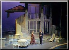 Tartuffe by Moliere - Set Design by Richard Finkelstein, Stage Designer