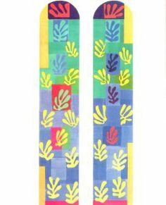 Matisse: Stain glass window design for the chapel at Vence http://paisleypedlar.wordpress.com/