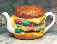Hamburger Teapot