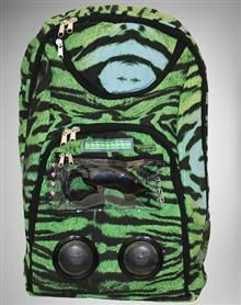 Green Gradient Tiger Audio Backpack Spencers Online 616718ba939a4