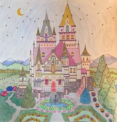 Romantic Country coloring book.      kkb