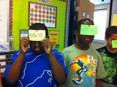 Once Upon A Teaching Blog: Ordering and Comparing Whole Numbers
