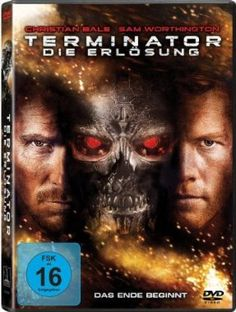 Terminator - Die Erlösung  2009 USA,Germany,UK,Italy      Jetzt bei Amazon Kaufen Jetzt als Blu-ray oder DVD bei Amazon.de bestellen  IMDB Rating 6,7 (171.190)  Darsteller: Christian Bale, Sam Worthington, Moon Bloodgood, Helena Bonham Carter, Anton Yelchin,  Genre: Action, Drama, Sci-Fi,  FSK: 16