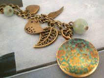 Hippie - Medaillonkette