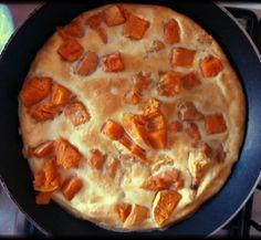 Sweet potato vanilla breakfast omelette