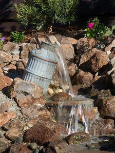 Yard Crashers: Water-Feature Wonderland   Yard Crashers   DIY